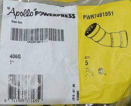 Apollo Powerpress Gas Carbon Steel Press 45 Degree Elbow PWR7481551 image 3