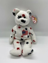 "TY Beanie Baby 9"" Glory Bear With Hang Tag - $19.70"