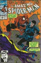 Amazing Spiderman #349 ORIGINAL Vintage 1991 Marvel Comics Black Fox - $12.86