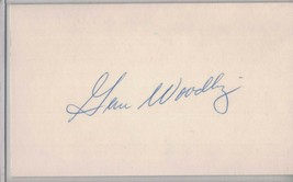 GENE WOODLING Auto/Autograph 3x5 Index Card Yankees/Pirates/Indians (192... - $8.96