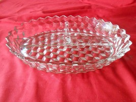 Magnificent FOSTORIA American 3 Section DIVIDED DISH - $10.80