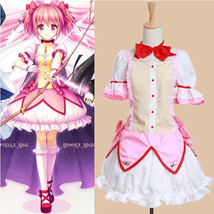 Puella Magi Madoka Magica Sweet Uniform Dresses Cosplay Costumes XS-XL - $45.99