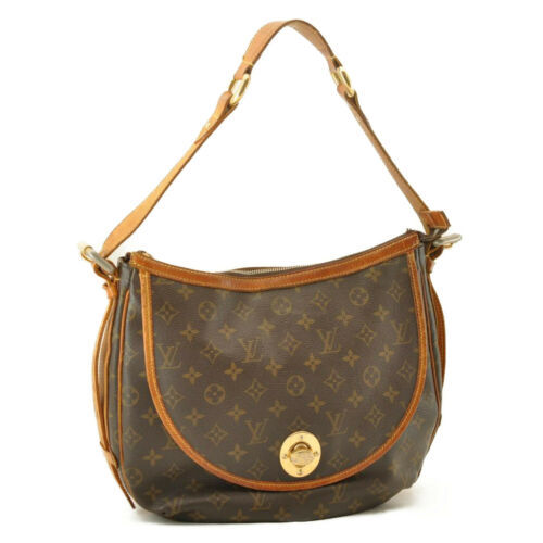 LOUIS VUITTON Monogram Tolum GM Shoulder Bag M40075 LV Auth mk014