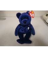 Princess Diana Ty Beanie Baby Bear 1997 P.E. Pellets China Rare Mint wit... - $22.77
