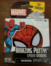 Marvel Spiderman Amazing Putty See-Through Spider Webbing NEW IN PACKAGE - $7.92