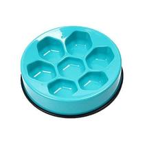 Panda Superstore ABS Plastic Football Dog Bowl Round Pet Bowl Food Slow Feed Bow