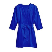 Silky Kimono Robe - French Blue 1XL - 2XL (Pack of 1)  - $39.99