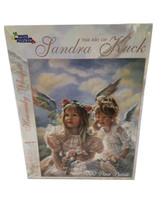 "Sandra Kuck Heavenly Whisper 1000 Pc White Mountain Puzzle 24"" X 30"" Sealed - $15.88"