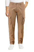 Men's Cotton Tactical Work Trousers Multi Pocket Military Army Cargo Pants image 2