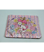 Sanrio Japan My Melody 40th Anniversary Pink Soft Flat Case Bag Zipper 1... - $20.82