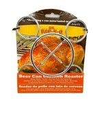 CHICKEN ROASTER BEER CAN HOLDER BY MR BAR-B-Q NEW - $13.76