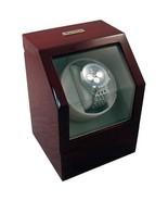 Heiden Battery Powered Single Watch Winder - Cherrywood - $148.45