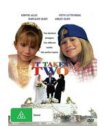 IT TAKES TWO  Mary-Kate Olsen  Ashley Olsen  Family T.V Movie - $16.90