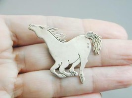 Gorgeous Frank Salcido Comes Charging Sterling Horse Pin - $140.00