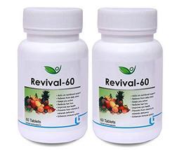 Krishna Biotrex Nutraceuticals Revival - 60 Tablets (Pack of 2) - $52.00