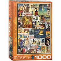 EuroGraphics Bicycles Vintage Ads Jigsaw Puzzle (1000 Piece), Model:6000-0756 - $26.96