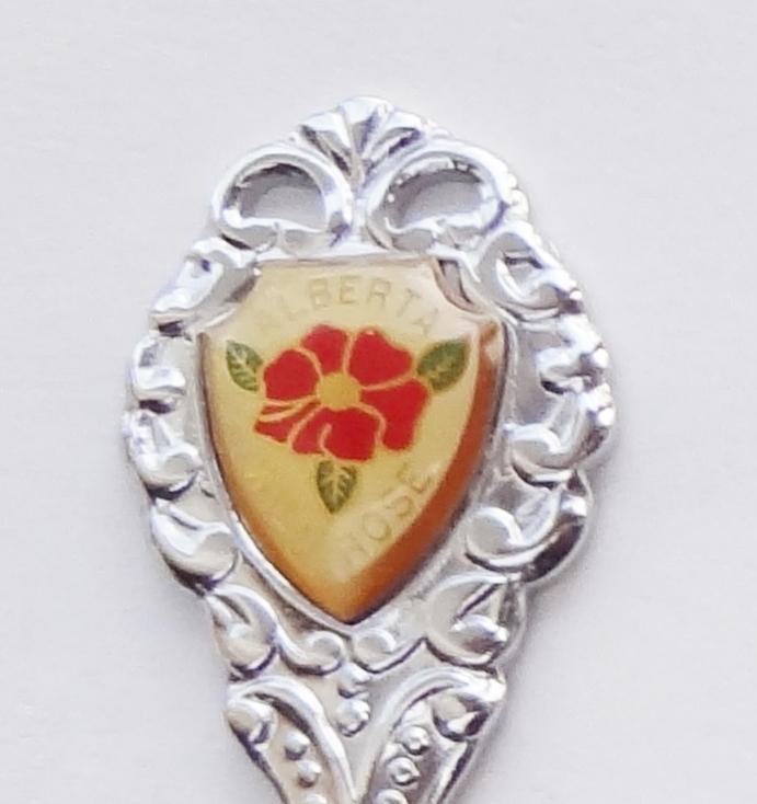 Collector Souvenir Spoon Canada Alberta Linaria Shoal Creek Westlock County - $4.99
