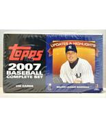 2007 Topps Baseball Hobby Box Updates & Highlights Complete Set 330 New - $69.99