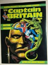 Captain Britain #10 (1985) Marvel Comics Uk VG+/FINE- - $9.89