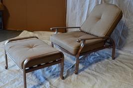 Elizabeth Outdoor Patio 4pcs  Adjustable Club Chairs Mocha Color Cast Al... - $916.74+