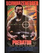 Predator Signed Movie Poster - £130.90 GBP