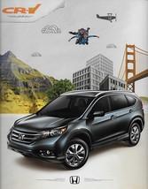 2013 Honda CR-V sales brochure catalog 13 CRV LX EX EX-L - $6.00