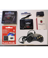 Mini Sega Genesis with Raspberry Pi 3 installed with16GB micro-sd and Co... - $139.99