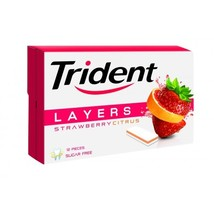 Trident Chewing Gum Strawberry Citrus Sugar Free (26.4g) Pack of 3 - $18.00