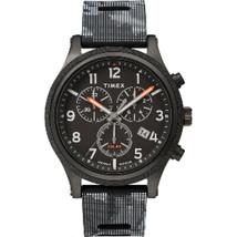 Timex Allied LT Chrono 42mm - Black Case w/Black Camo Dial - $104.09