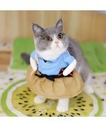 Funny Cat Dog Clothes Cosplay Pets Dogs Clothing For Dog Standing Hallow... - £17.63 GBP
