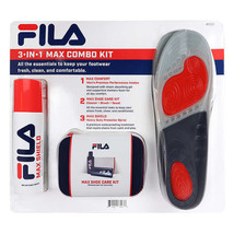 NEW Fila 3-in1 Max Combo Shoe Care Kit FREE SHIPPING - $36.99