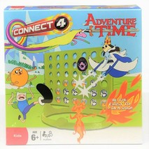 Adventure Time Connect Four 4-in-a-Row Game Edition Toy - $10.19