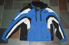 STRYKE SPYDER BOY WINTER SKI SNOWBOARD SNOW JACKET COAT 14 BLUE - $49.49