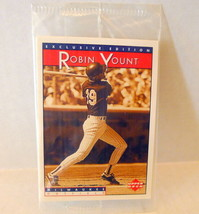 Robin Yount Baseball Heroes Card Upper Deck Sonic 1995 Satchel Paige - $2.92