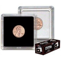 BCW 2x2 Premium Snaplock Coin Holders for Penny/Cent 19mm 25 pack - $14.49