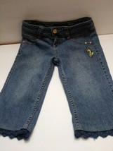 vintage Baby Phat juniors girls jeans size 12 shorts  - $19.99