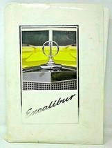 Excalibur Car Symbol of Success February March 1988 Lot of 30 Photos + P... - $28.04