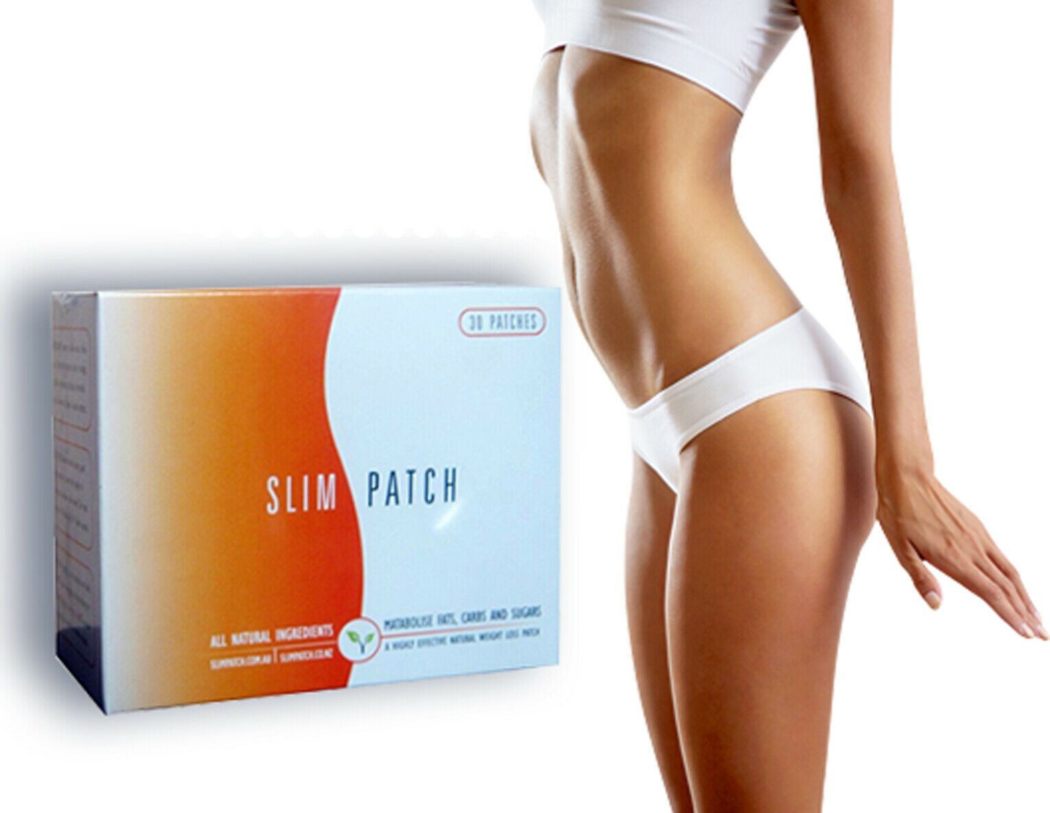 Primary image for EzyTone Detox Patches 30Pcs Fat Burning Slimming -No More Overweight