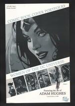 Wonder Woman Adam Hughes SIGNED Women DC Universe Portfolio Folder / Cov... - $29.69