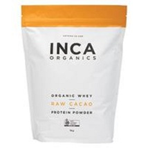 INCA Organics Organic Whey + Raw Cacao Protein Powder 1Kg - $703.45