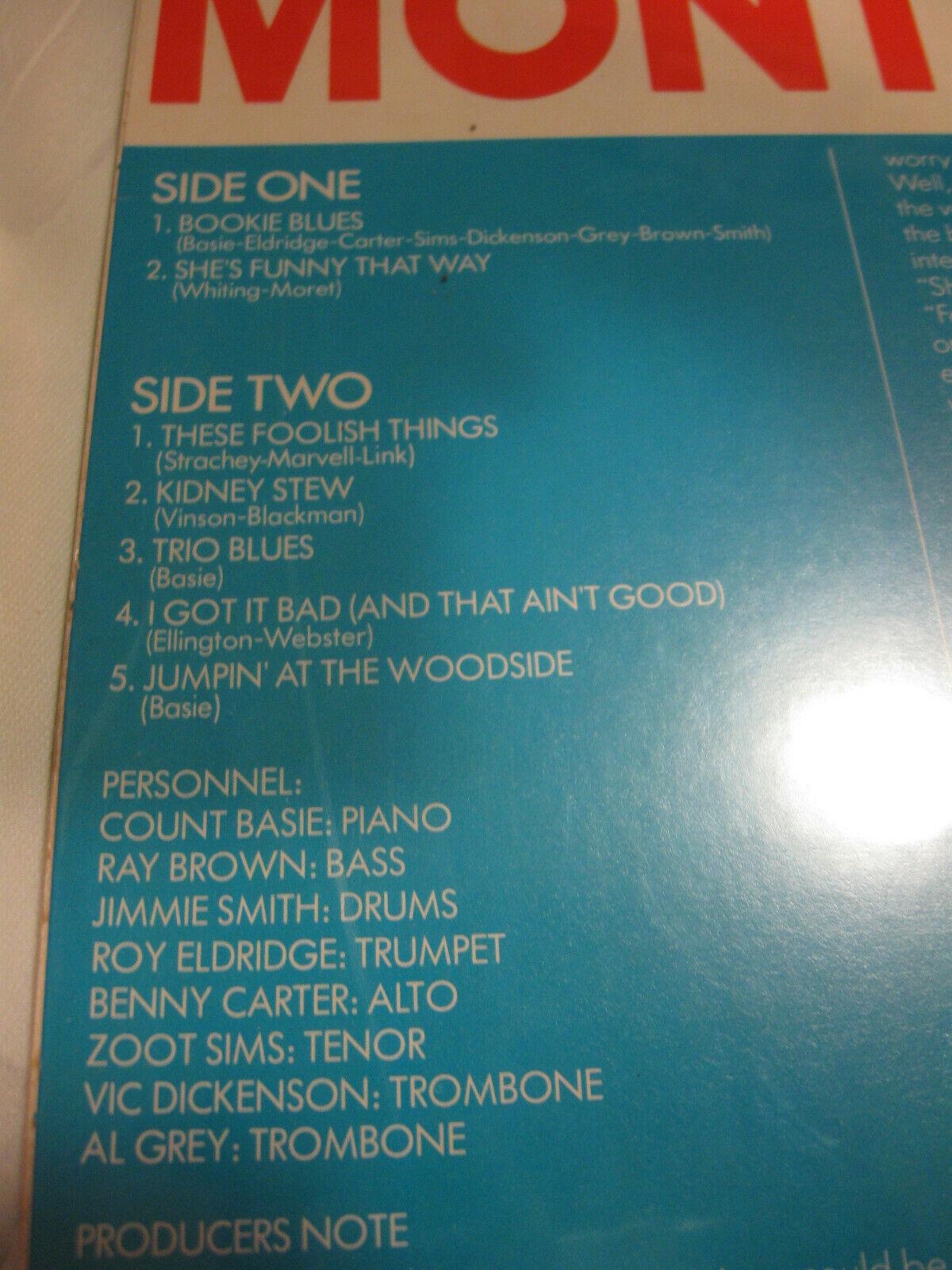 Count Basie Jam Montreux 77 Pablo 2308 239 Stereo Vinyl Record LP Jazz SEALED image 3