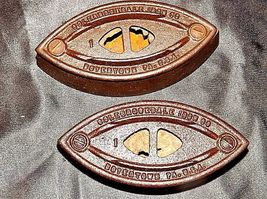 Antique Colebrookdale Sad Iron Co. Boyertown PA USA No. 1AB 565-F image 3