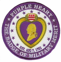 United States Purple Heart  Patch Patch Patch - $10.88
