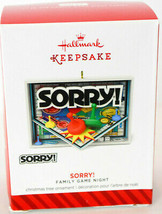 Hallmark: Sorry! - Family Game Night - 2014 Keepsake Ornament - $18.80