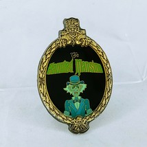 Disney Pin 132 The Haunted Mansion Hitchhiking Ghost Ezra Oval Brass Framed - $8.90
