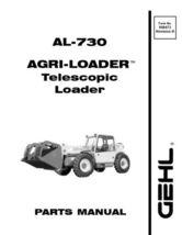 New-GEHL-AL-730-AL730-Parts-Manual-908473-FREE-SHIPPING  - $34.90