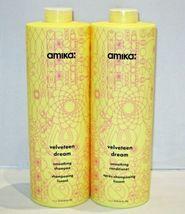 Amika Velveteen Dream Smoothing Shampoo Conditioner Duo 10.1 oz 33.8 Liter - $39.99+