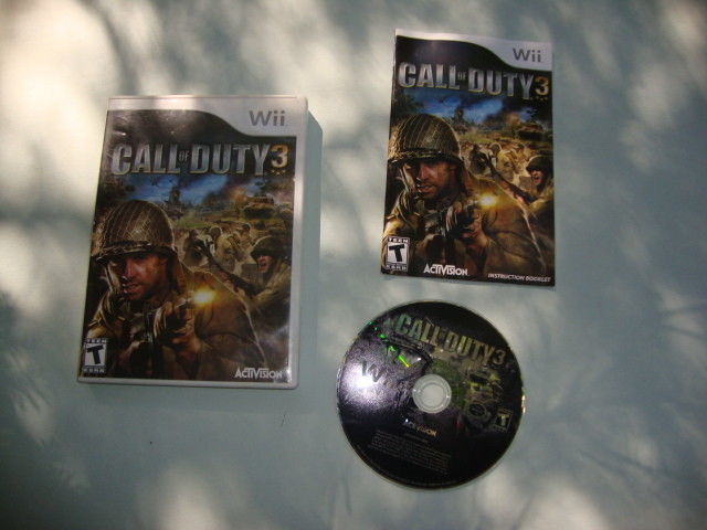 Call of Duty 3 (Nintendo Wii, 2006)
