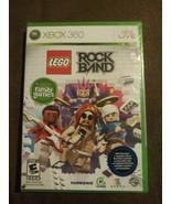 LEGO Rock Band (Microsoft Xbox 360 2009) Rated E 10+ Harmonix NIP RARE 4... - $35.63