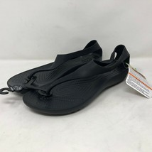 Crocs Women's Serena Flip Thong Sandal Sz 9 Slip On Thong Beach Summer - $64.34